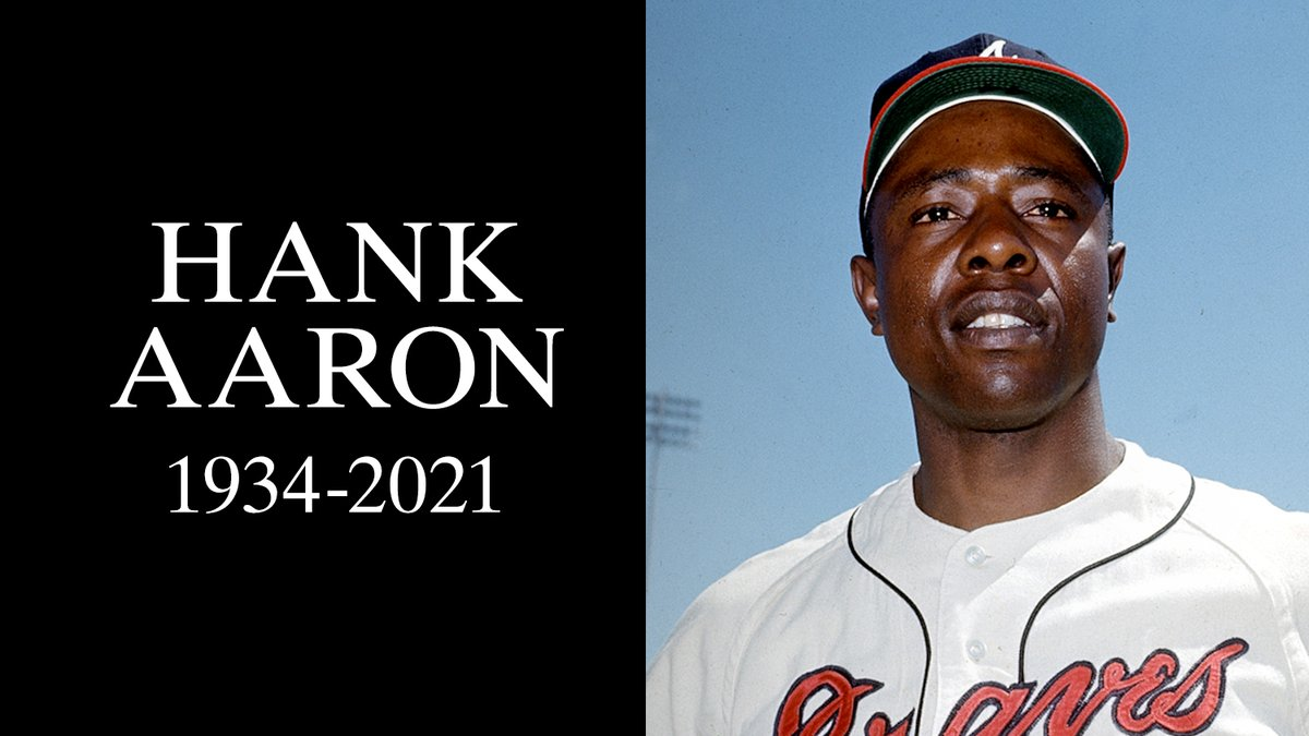 @MLB's photo on Hank Aaron