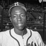 Image for the Tweet beginning: Hank Aaron, the Hall of