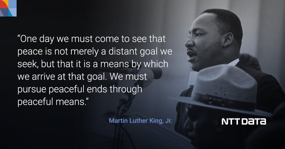 Today we honor Martin Luther King, Jr. and the values he represented. His words continue to inspire us today. #MLKDay