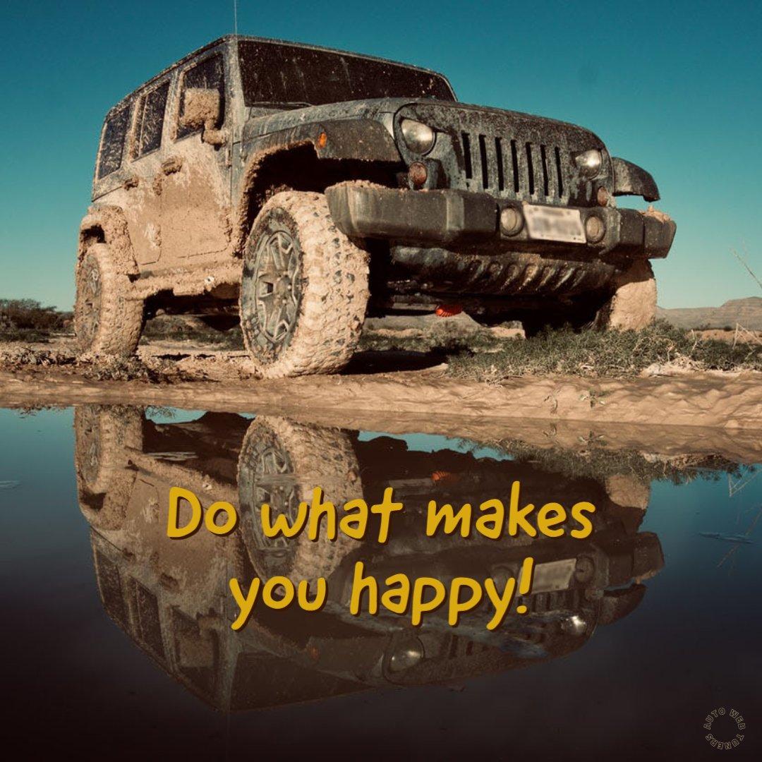 Find your happy place! Carstar Douglas Auto Body  #DouglasAutoBody #BeHappy #TGIF #FridayVibes #Jeep