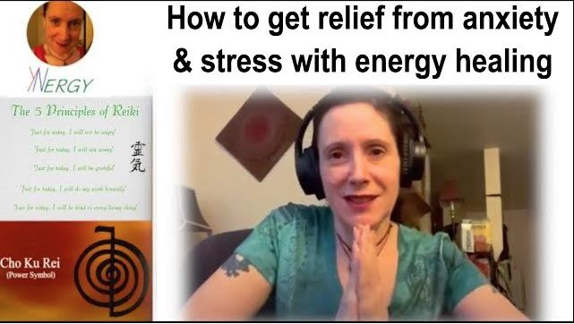 How to get relief from anxiety and stress with energy healing; FAST     #fridaymorning #energyhealing #howto