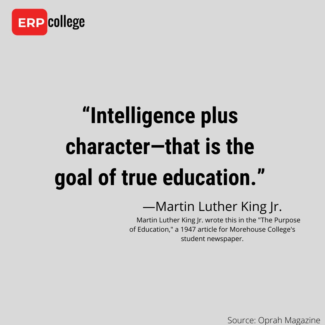 This week we remembered Martin Luther King on his day, and reflected about the progress he inspired. It seems right to end the week with another one of his quotes:  Have a great weekend!  #fridaythoughts #inspirechange #fridaymotivation💭 #MLKDay #education #yyc #yxe #yeg