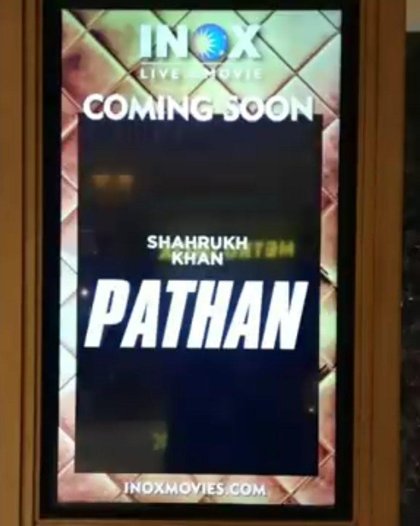 #PATHAN 🔥 @iamsrk @TheJohnAbraham @deepikapadukone @yrf #SiddharthAnand