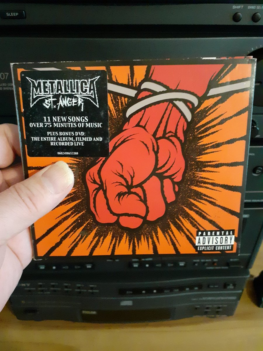 An album that divides.  Love it/Hate it, which side of the fence are you on. #TeaTime tunes tonight. #Metallica #Metal #MetalMusic #music #NowPlaying #Playlist #CD #FridayThoughts #FridayVibes #StayHome #StaySafe #BeSafe  @Metallica @larsulrich @KirkHammett @RobertTrujillo