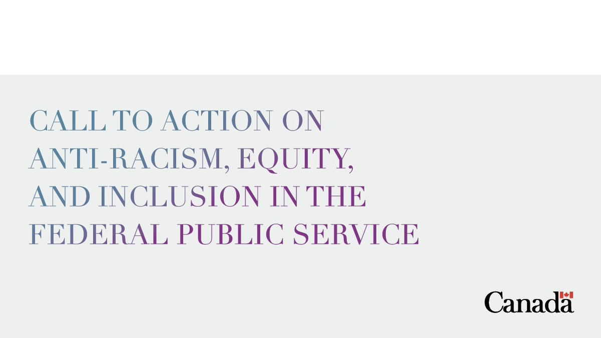 The time to act on #AntiRacism, #Equity and #Inclusion is now. The Clerk of @PrivyCouncilCA is calling on #GC leaders to take practical action to bring about systemic change. Read it here: bit.ly/3iD7YNF