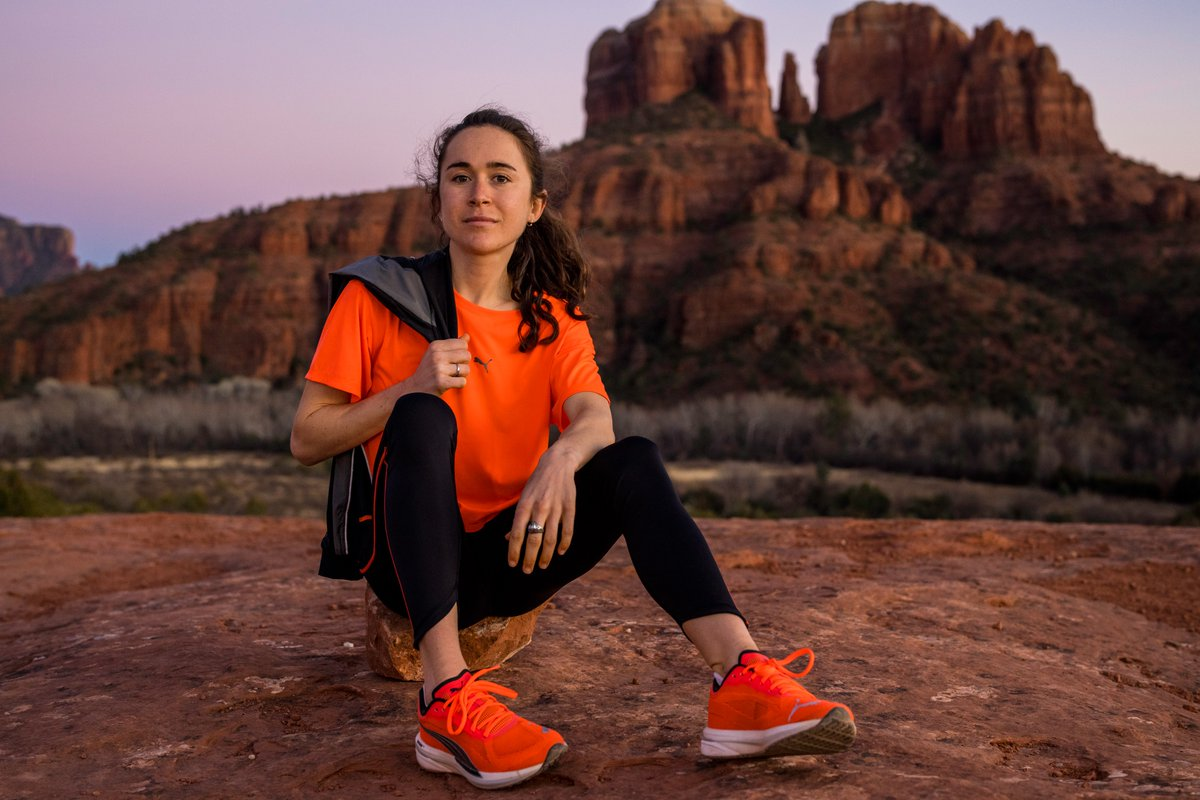 Pumped for @ByGollyMolly12 to officially announce her sponsorship with @PUMA / @PUMARunning. I was out in Arizona the last two weeks to shoot Molly & feel out of shape at 7K feet. Here are a few photos from shooting.