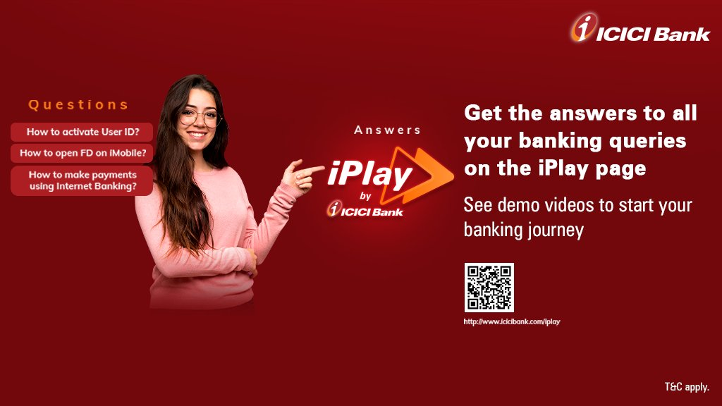 Wondering how to use digital banking to the fullest? Watch specially crafted video tutorials on #ICICIBankiPlay that will teach you how to #BankFromHome effortlessly.  Watch the videos here: