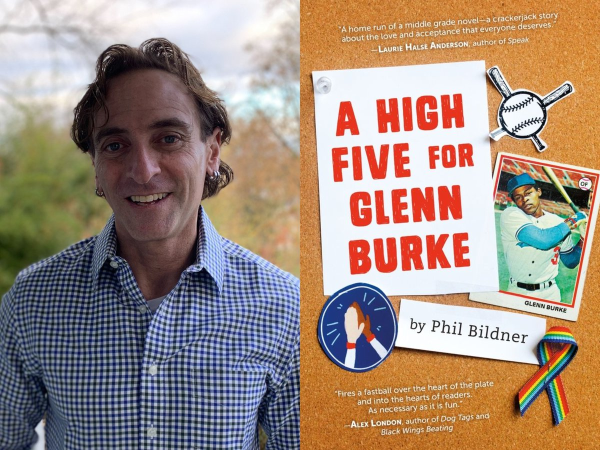 """Author Phil Bildner shares the story of meeting a young reader during a school visit, and asks the adults in kids' lives to, """"Be who you needed when you were younger. Say the things you needed to hear when you were his age."""" @PhilBildner"""
