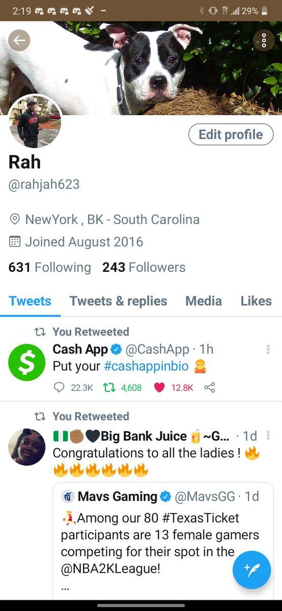@CashApp #cashappinbio $Rahjah2