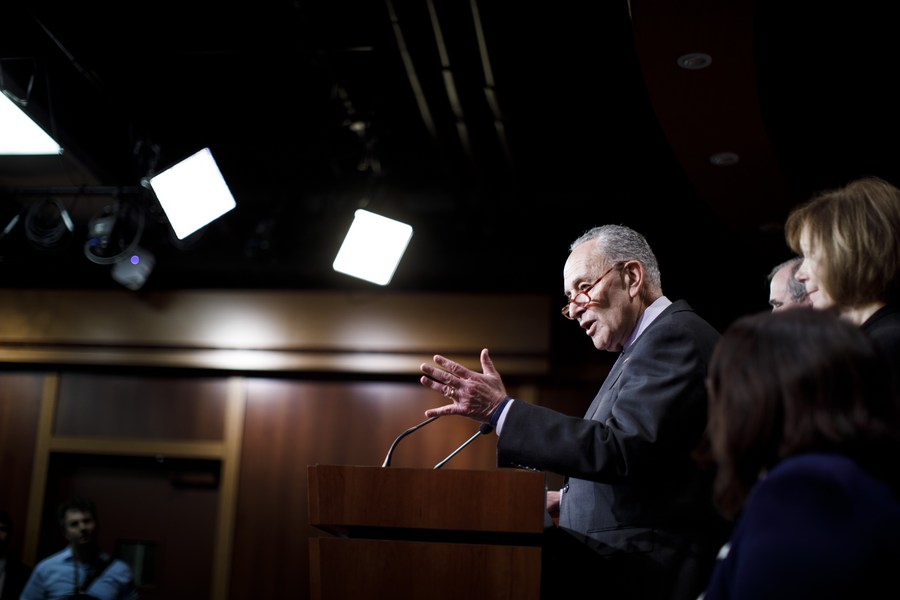 #UPDATE: U.S. House will deliver Trump impeachment article to Senate on Monday, Senate Majority Leader Charles Schumer says, triggering preparations for trial that could start as early as next week
