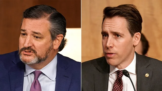 NEW POLL: Hawley, Cruz see approval ratings plummet in wake of Capitol riot