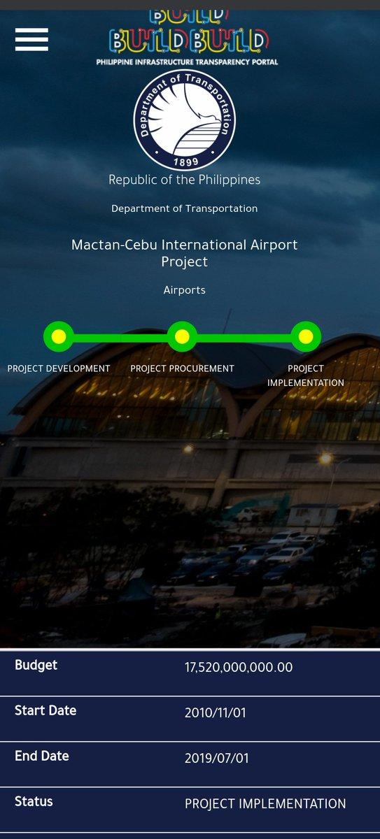Sa mga naghahanap nga pala ng transparency ng Build Build Build Programs sige busisain natin.2010 pa pala nag start..ah Okies..Mayor pa nun si Duterte