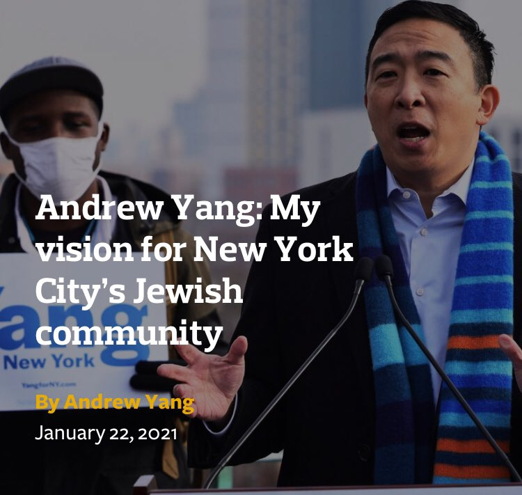 Comparisons that liken Palestinians, students, & advocates for Palestinian rights to Nazis and fascists — when neo-Nazis and fascists are attacking our nation and threatening our democracy — demonstrate that Andrew Yang is simply not serious about combatting antisemitism.