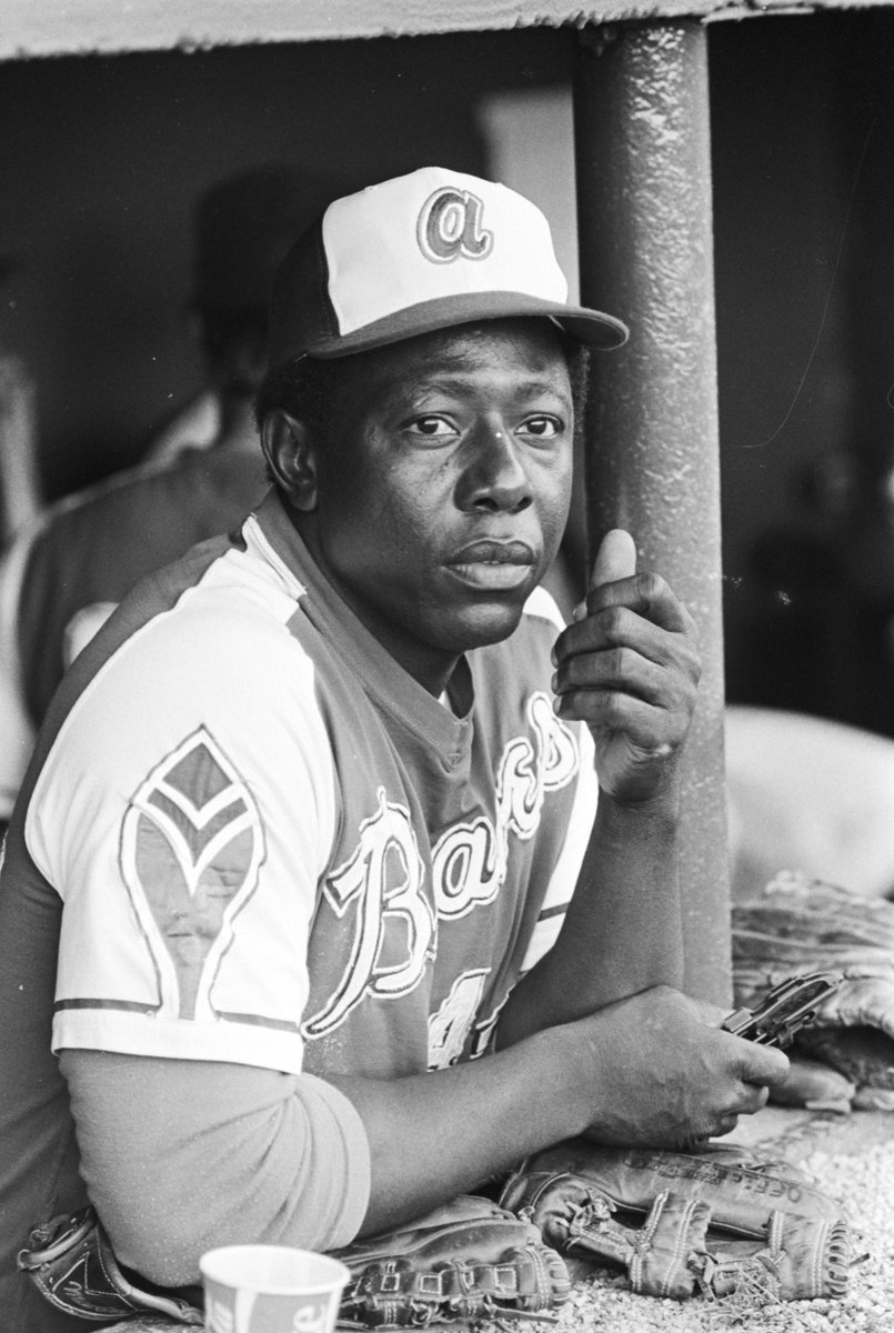 We are saddened to learn that #baseball legend and #Alabama native #HankAaron passed away today at age 86. Image: Aaron during a game b/w the Atlanta Braves and the Baltimore Orioles at Rickwood Field in Birmingham in 1974. View more here  #AlabamaHistory
