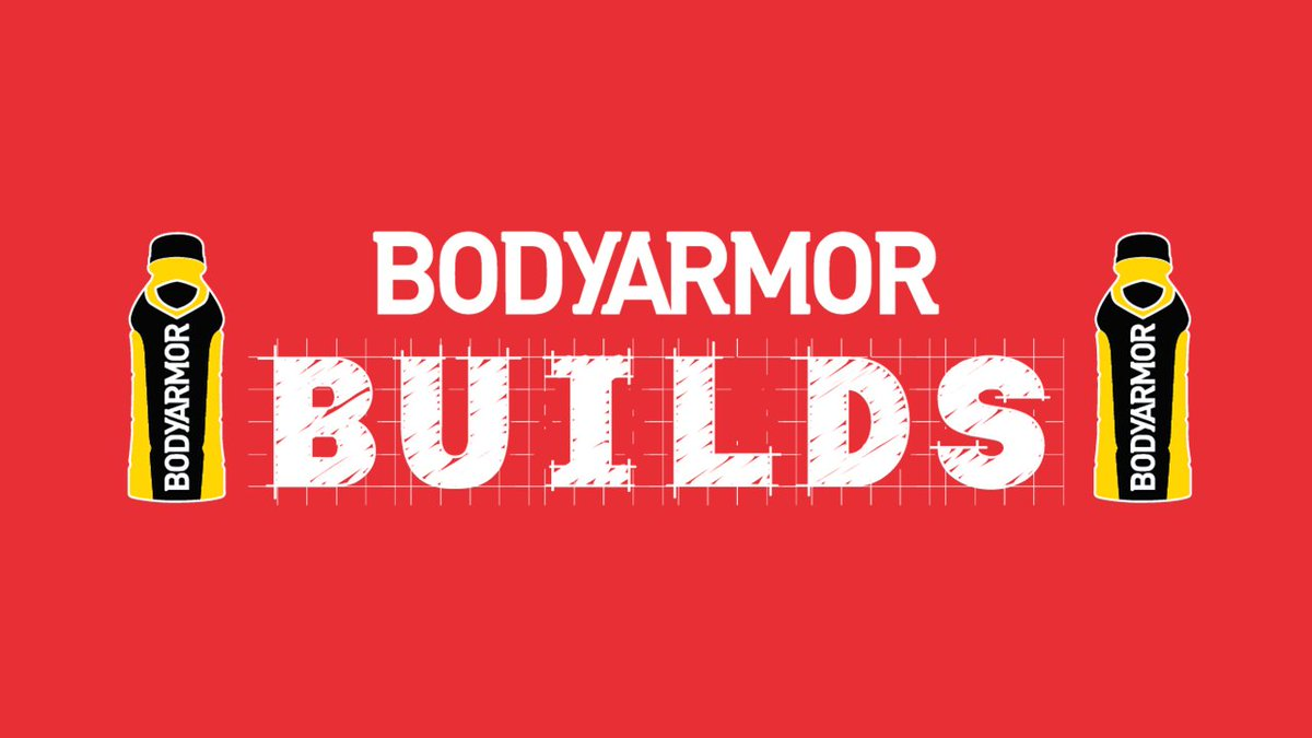 We're excited to announce that @DrinkBodyArmor is teaming up with 10 local clubs to give back! You can join in on the fun too! Visit:  and vote for the project you want this donation to support. #BODYARMORBUILDS