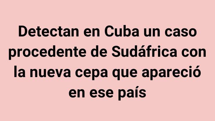 Cumplir los protocolos sanitarios con disciplina y responsabilidad es la única forma de evitar el contagio por #COVID19 #CubaPorLaSalud https://t.co/F1azevs7wx