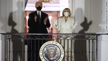 @theview @MeghanMcCain @sunny #TheView  #Biden was even wearing his mask here, next to his wife! He did NOT break his own rule like you allege. Terrible producers, awful you used Capitol picture. @JoyVBehar @ananavarro