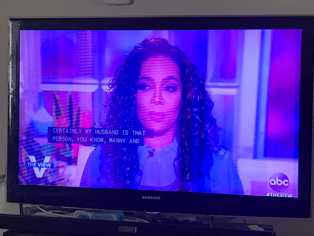 #TheView @sunny: absolutely I think true masculinity/real masculinity is not threatened @ ALL by his wife's success #shesaidit #SAYTHATMAAM
