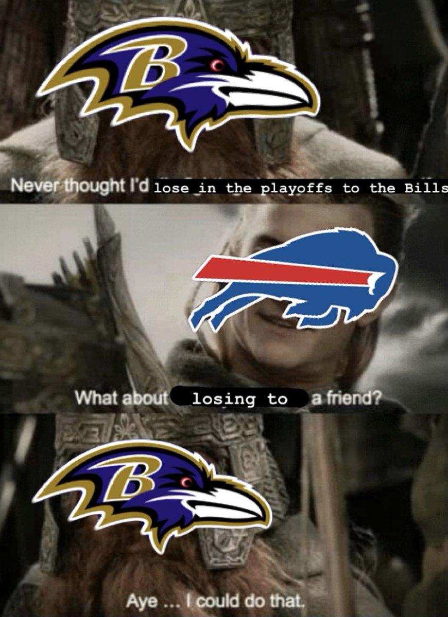 Hey #BillsMafia go win a Super Bowl for the #Ravens