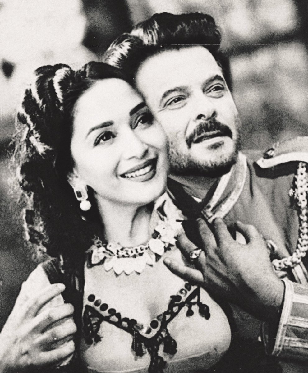 """Part 14 of our FanStory has been uploaded ❤️🧿 You can read it here>  . ....""""How can you hate a person so much and love him at the same time?  I didn't have an answer to that.""""... . @MadhuriDixit @AnilKapoor #madnil #MadhuriDixit #AnilKapoor"""