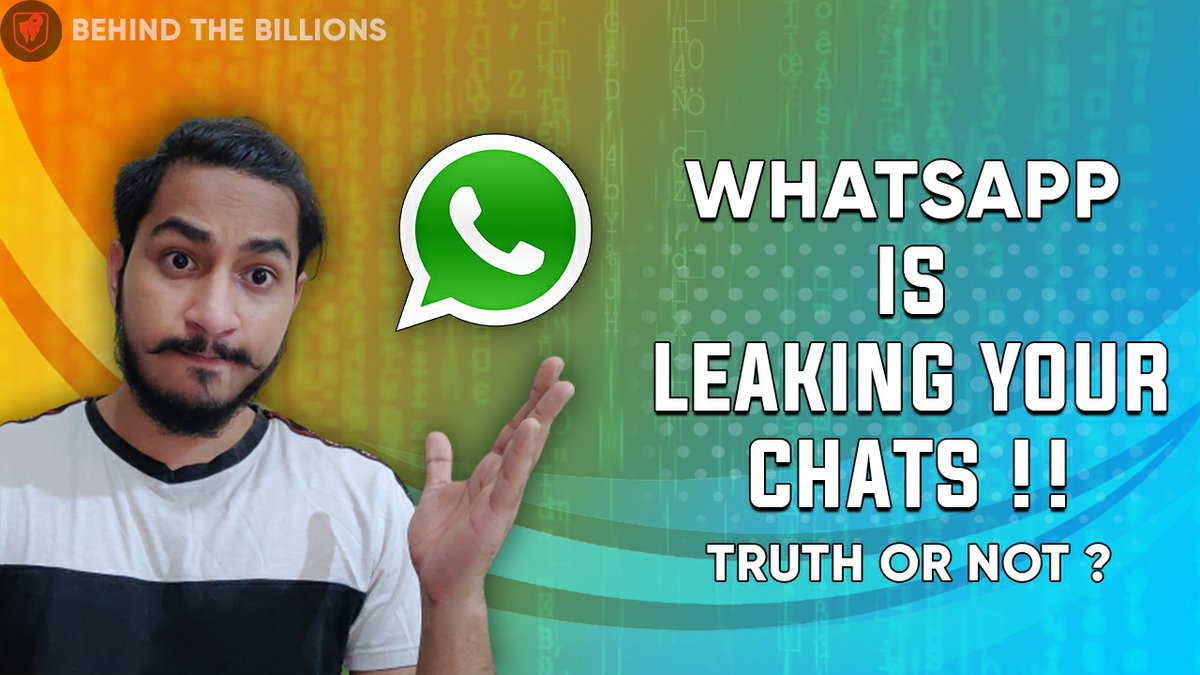 Is WhatsApp really safe 🤷 Want to know the truth behind Whatsapp's new privacy policy ? https://t.co/u4NV61TxKI watch our latest videos to get all your answers 🔥 https://t.co/Zp2KJ55IYo