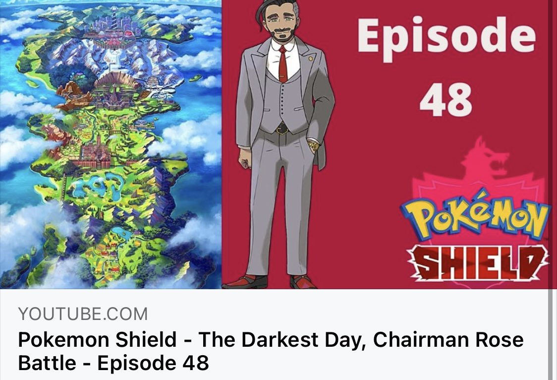 📺📺 New Episode Up Now 📺📺  😈The Darkest Day is upon us😈  🦸♂️Can we save the day and protect Galar🦸♂️  NabNation 😁  ❗️Link Below❗️    #YouTube #YouTuber #Pokemon #PokemonSwordandShield #Youtubers #gaming #gamer #pokemon25 #subscribe #thedarkestday