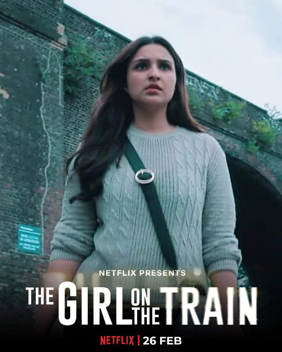 this train journey is gonna be like no other✨ as exciting as a seat next the window 🍟 discover why om the 26TH FEBRUARY ON NETFLIX ❌ #TheGirlOnTheTrain #TGOTT @ParineetiChopra