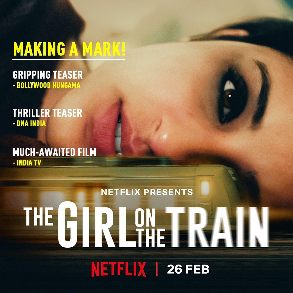 About #TheGirlOnTheTrain .  Via : @Bollyhungama | @indiatv | @dna .  @ParineetiChopra • #ParineetiChopra • #TGOTT
