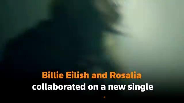 Billie Eilish and Rosalia release Spanish and English-language track, titled 'Lo Vas A Olvidar https://t.co/jg69Hdlwo7
