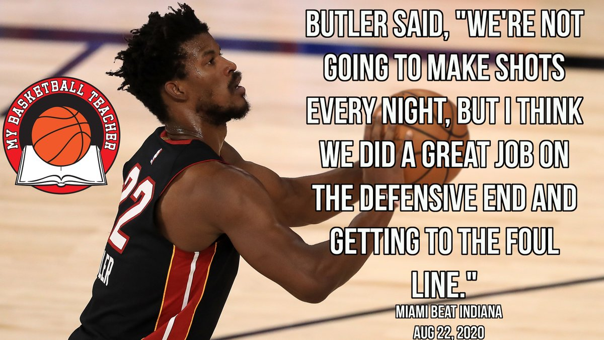 Jimmy Butler is My Basketball Teacher. #Miami #Heat #AttackMode  #MyBasketballTeacher #PostGameQuotes #DailyMotivation #PostGame #PostGameQuotes #Hoops #Bball #Basketball #gymrat #quotes #quote #baloncesto #Basketbol #Basquet #Basquete #баскетбол #basquetebol #NBA