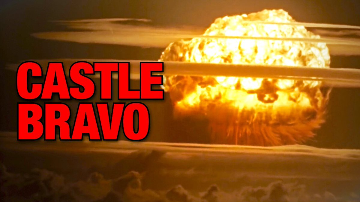 At the time, it was the most powerful artificial explosion in history...but it wasn't supposed to be. This is the true story of the Castle Bravo disaster:  [NEW mini documentary]