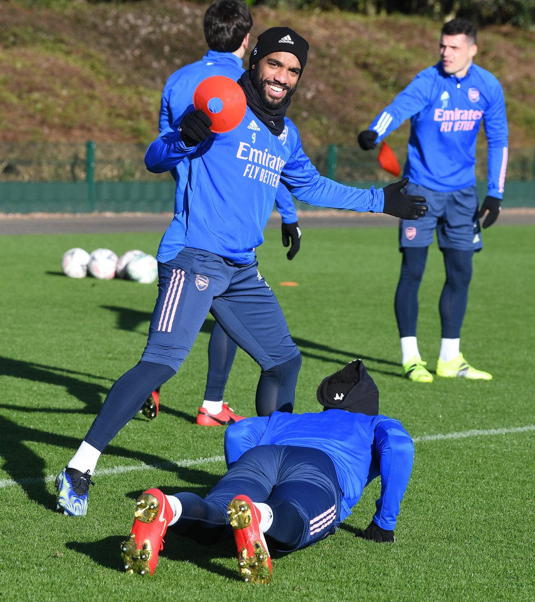 Pictures from today's training session #facup #arsenal