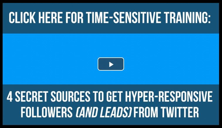 #TwitterTips #TwitterMarketing #FreeTraining   Unlock 4 Secret Sources  to Get Hyper-Responsive Twitter Followers  and 10X Your Leads, Sales & Sign-Ups with Twitter.