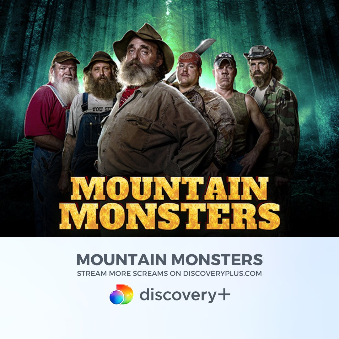 Spend your weekend in the Appalachian Mountains with @discoveryplus ⛰ Stream more screams with Mountain Monsters ➕ ⁠ Start streaming Mountain Monsters on #discoveryplus today at   #MountainMonsters #StreamWhatYouLove #FBF #TRVLFromTheVault