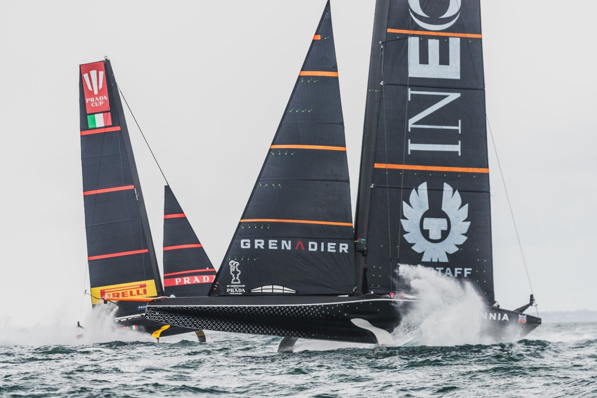 Huge weekend for @INEOSTEAMUKwho can earn a place in the #PRADACup final with a win against @lunarossa.   Follow the action live via https://t.co/ja8UOlxFPz or on @skysports.   We're all behind you.   #INEOStogether #ChallengeofaLifetime #AmericasCup https://t.co/2fRvyfQOyh
