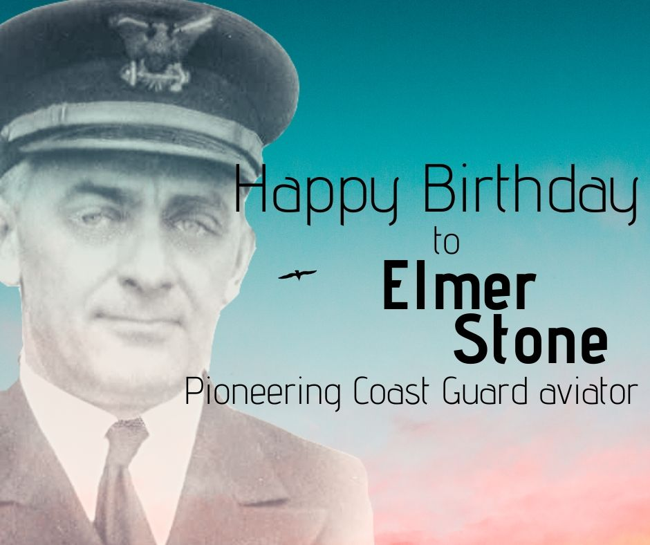 "Today marks the birthday of Elmer ""Archie"" Stone, the first #USCG aviator. Stone served in both the @USNavy and the Coast Guard during his storied career, which included seeing action during #WWII. Read more: ow.ly/ggug50DbsdM"