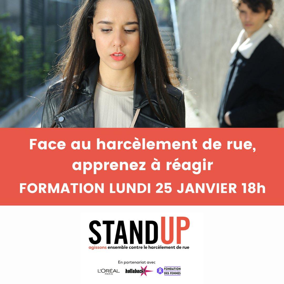 Le couvre feu ne met malheureusement pas fin au harcèlement de rue. Apprenez à identifier le harcèlement et à réagir grâce à la formation Stand Up.  La formation dure 1h, elle est en ligne et gratuite. Inscrivez-vous vite ici :