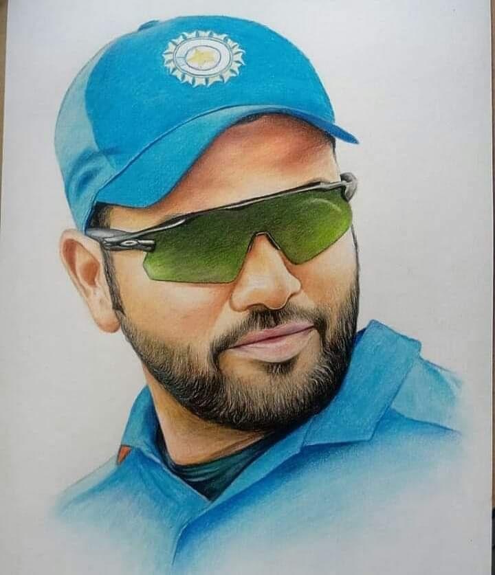 Amazing 😍😍 #hitman #rohitsharma #mumbaiindians #onefamily #cricket @ImRo45