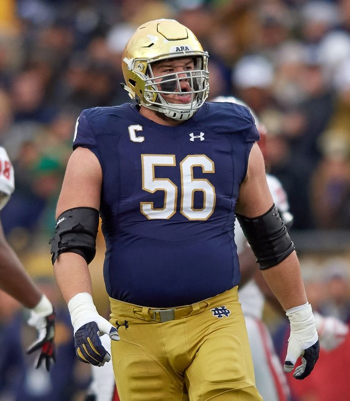 Most snaps played by OL in the NFL this season: 1. Notre Dame - 5.3k 2. Wisconsin - 5.2k 3. Ohio State - 4.8k 4. Georgia - 4.2k 5. Florida - 4.1k 6. LSU - 4.0k