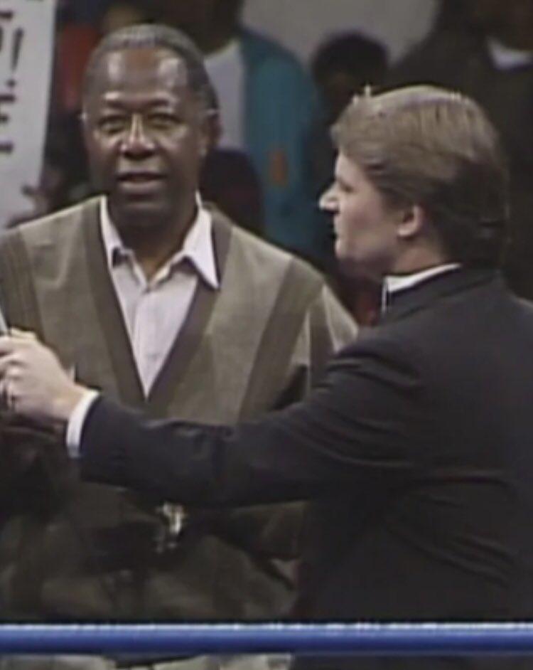 #RIPHankAaron #WCW