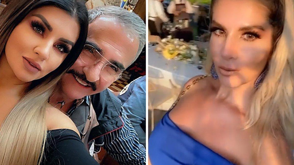 """La cuñada de Vicente Fernández Jr. lo señala como el """"guapetón"""" culpable de que coman """"tan bueno""""."""