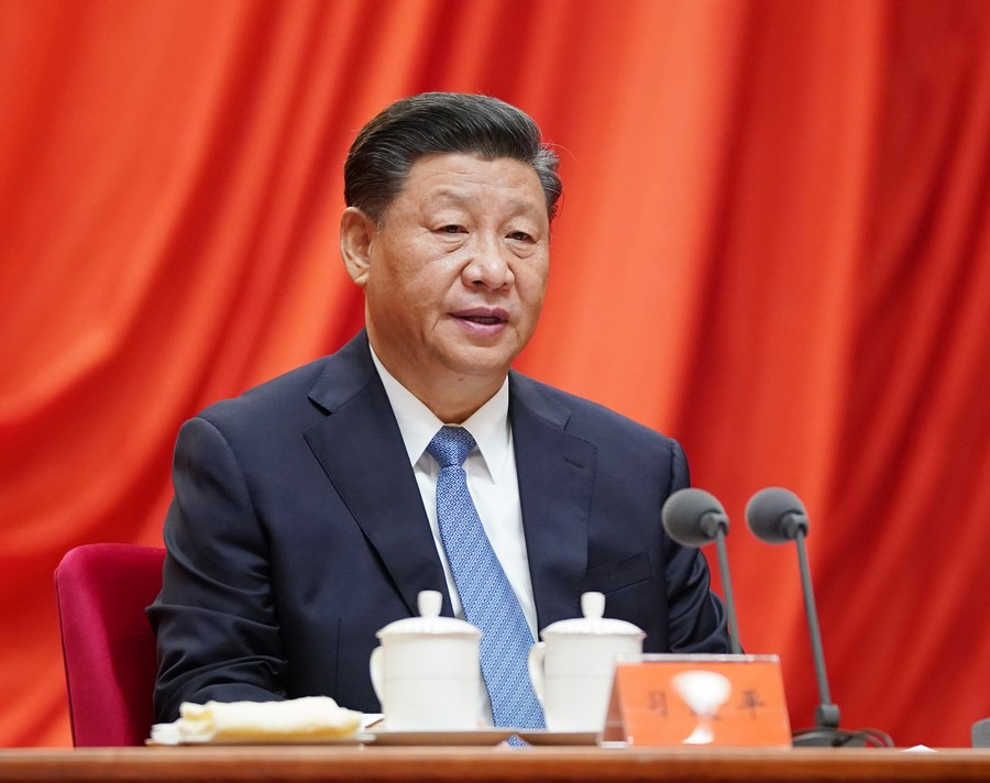 Xinhua Headlines-Xi Focus: Xi stresses strict Party governance for 14th Five-Year Plan period