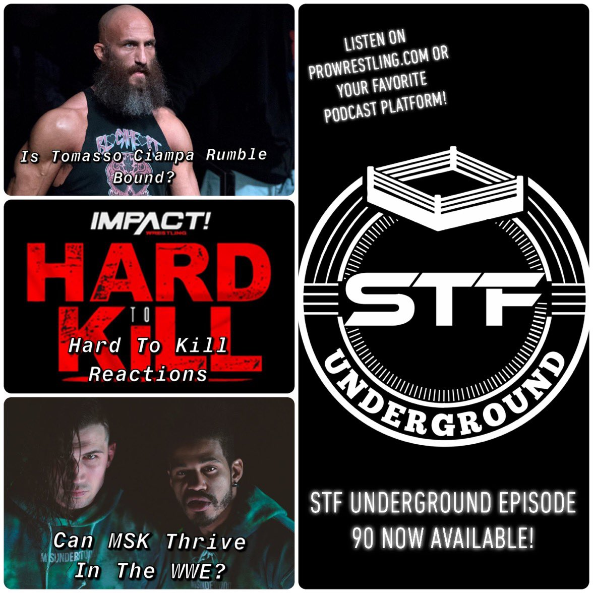 It's out!  Episode 90 is here, and there are a lot of hot topics, including #AEWDynamite's lackluster episode, where Ciampa goes from here, and the Dusty Classic! Listen now wherever you find podcasts! #NXT #ImpactWrestling #WWE #AEW #Wrestling