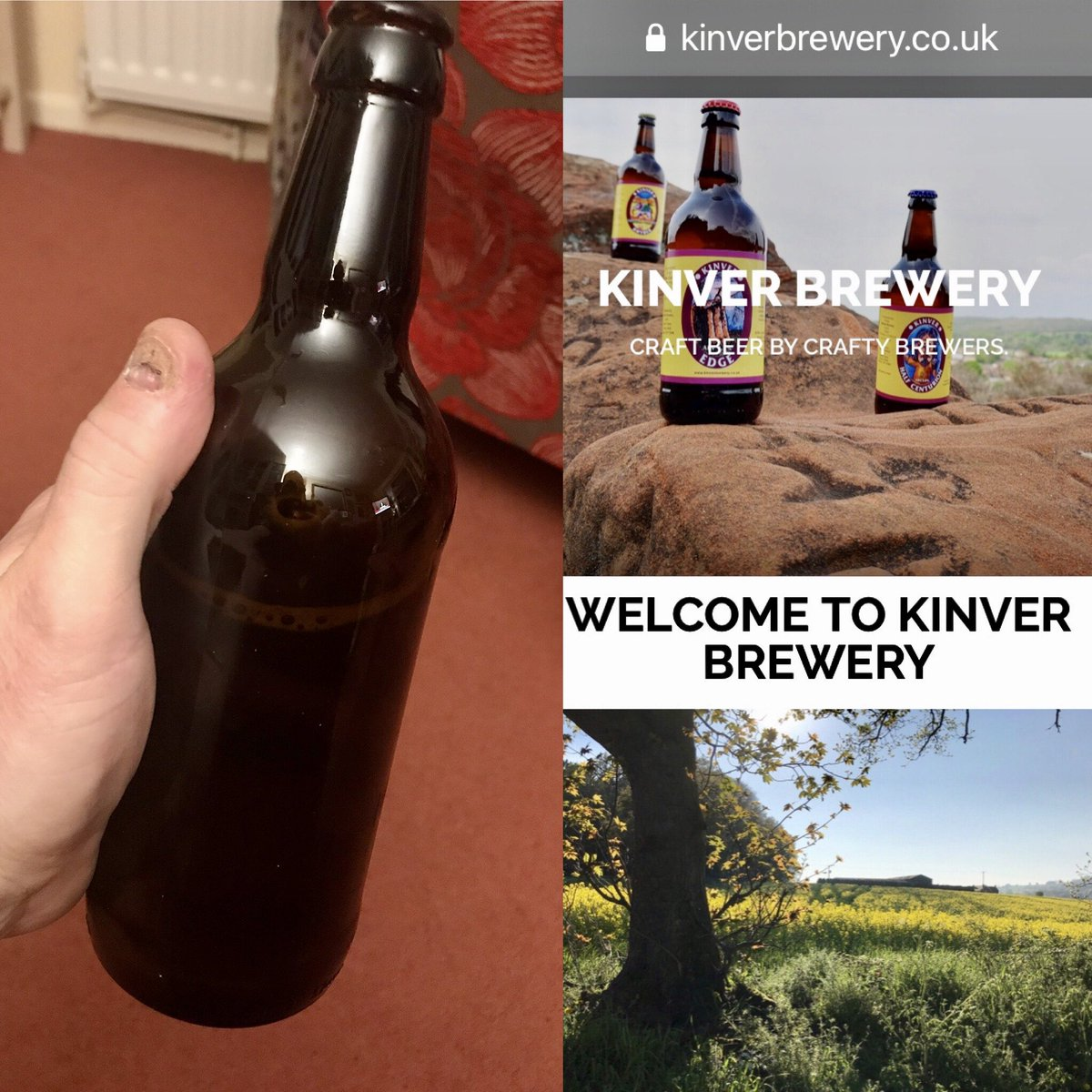 """To celebrate their 16th Anniversary of #brewing #beer @KinverBrewery has produced """"Sweet Sixteen"""" a 4.7% Pale 🍺 using Citra hops - a fine refreshing ale & highly recommended 👍🏼  @NTKinver @Wombourne_Dly @WombourneNature @DudleyCAMRA @BrumCAMRA @bode1977 @pete___lee @untappd https://t.co/RUiGcQ8a0n"""