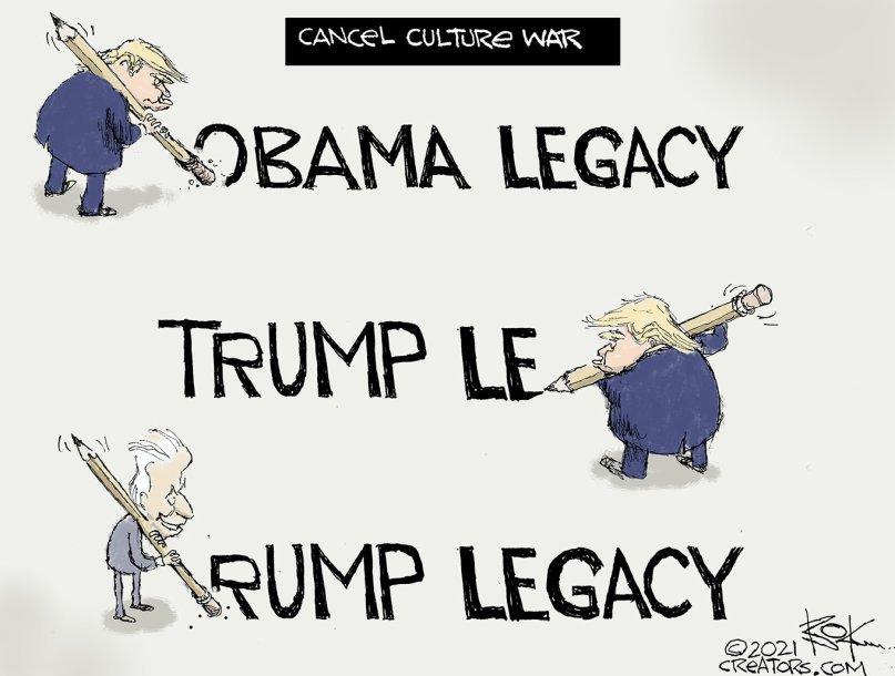 Legacies re-written... . #LincolnProject  #TrumpIsANationalDisgrace  #TrumpIsACompleteFailure  #TrumpIsGone  #TrumpIsACriminal #BidenHarris2021