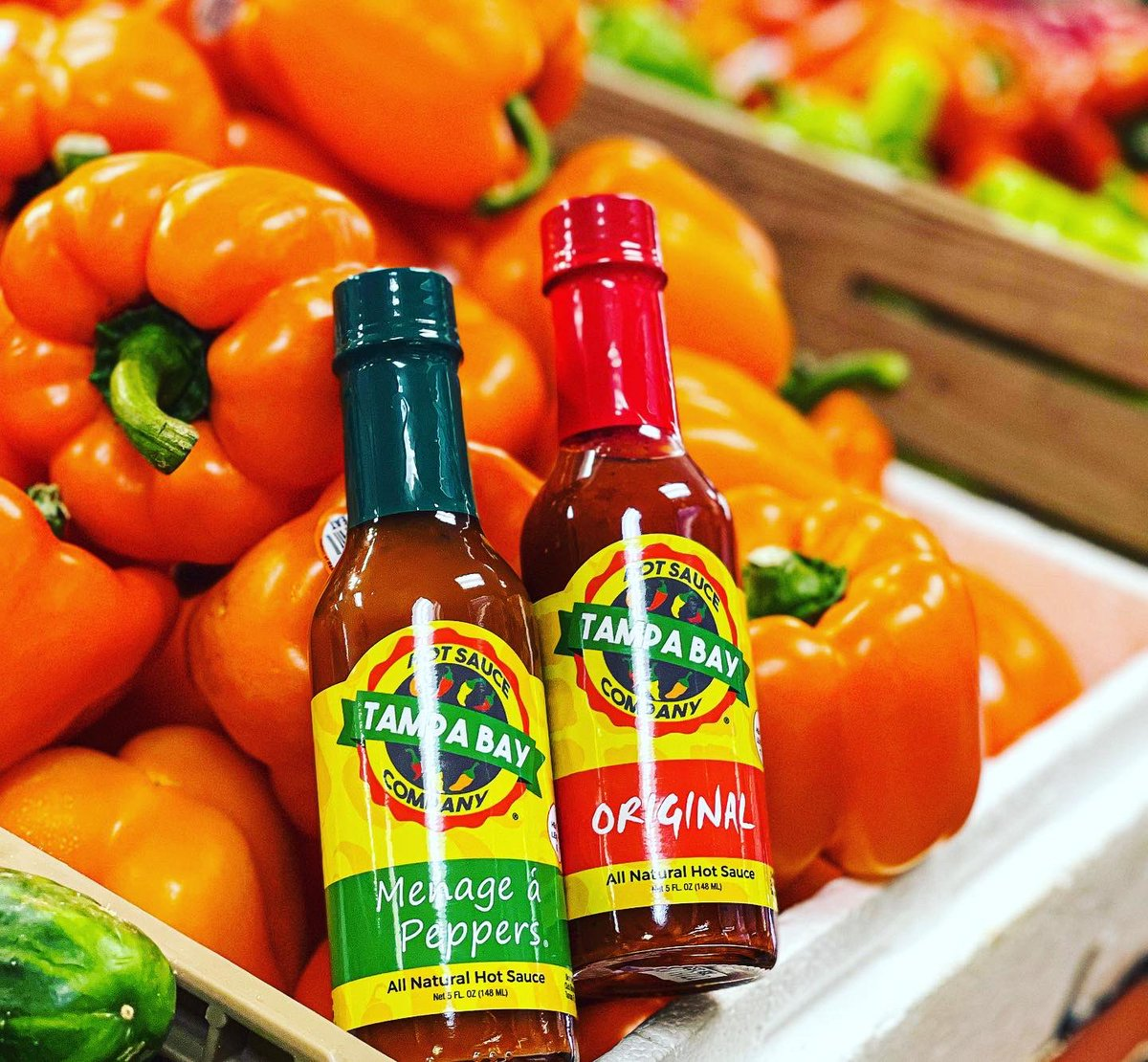 Joe's Produce and Deli Market restocked!!!  Be sure to pick up some #heat for the #weekend 🔥 Joe's has the best #produce #deli and #hotsauce in town!! If you haven't been you're missing out!