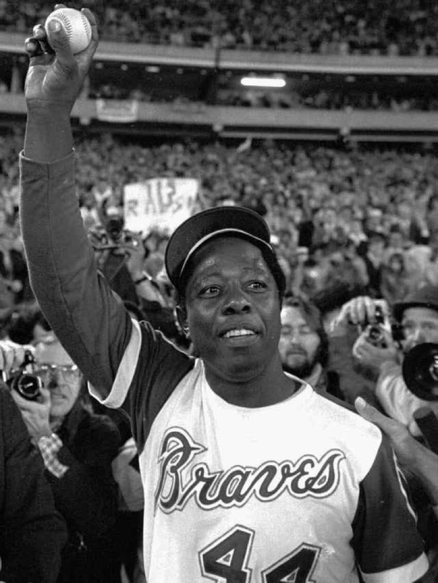 #BETRemembers MLB Hall of Fame Inductee Hank Aaron. Aaron made history by shattering Babe Ruth's record to become the Home Run King, a title he held for 31 years. He still holds the League RBI record. Aaron was 86. For more news, visit