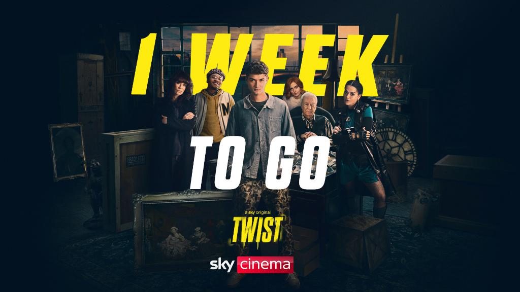 Get ready for #Twist to steal all of your attention 👀  Only on #SkyCinema, 29 January.