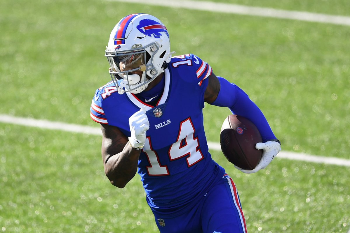 Stefon Diggs accounted for 106 of the #Bills' 220 total yards in the team's 17-3 win over the #Ravens in the Divisional Round. Expect the wideout to be heavily involved again Sunday.  Here are the bet tips you need for #BUFvsKC @GameDayFacts