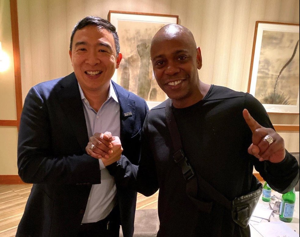 @kirkpate's photo on Dave Chappelle